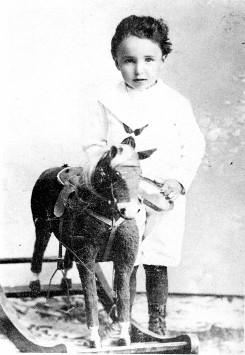 Wilhelm Reich age 3