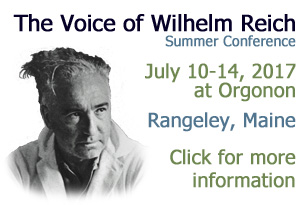 The Voice of Wilhelm Reich